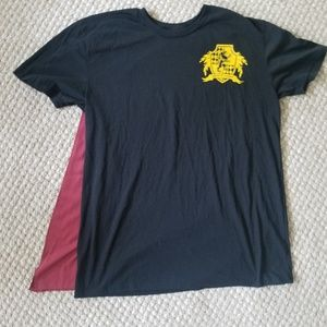 Harry Potter Gryffindor House Quidditch Cape Tee